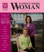 Jersey Shore Woman Cover April-May 2011