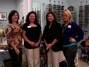 Networking event at Gails Optical - Jersey Shore Woman