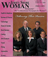 Jersey Shore Woman Cover Jan-Feb 2009