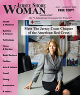 Jersey Shore Woman Cover July-August 2009