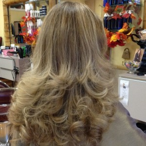 blond iso waves by Elaine Maitland