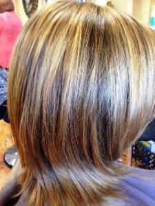 dimensional haircolor by Elaine